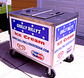 Chilly Billy's Push Cart